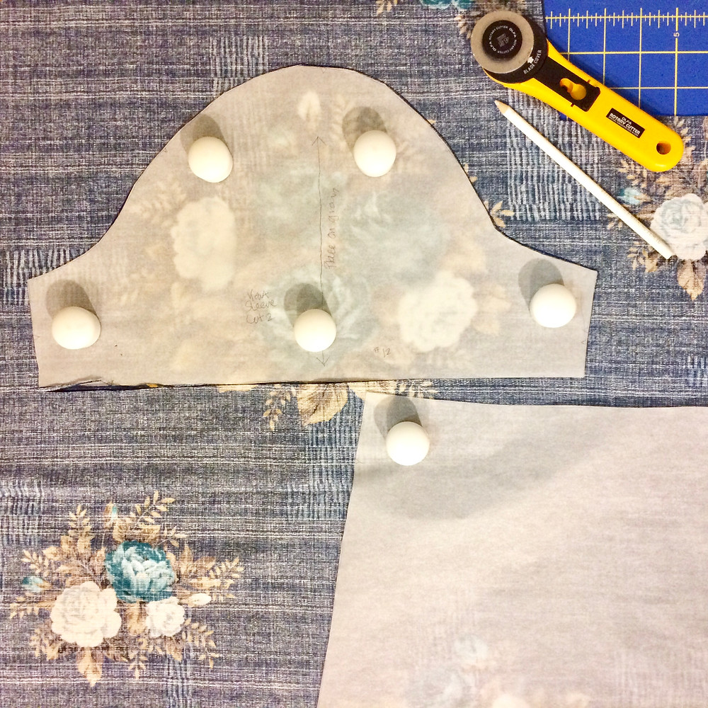 Cutting Out Emery Dress