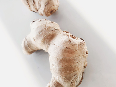 How To Peel Ginger // Video