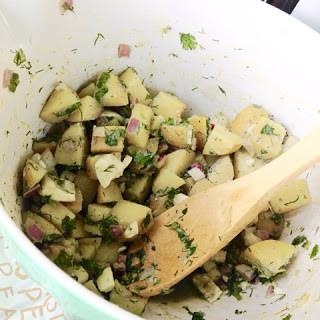 Easy Picnic-Ready Potato Salad
