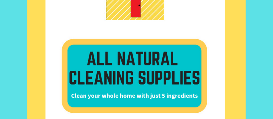 Clean Your Entire Home With These All-Natural Supplies