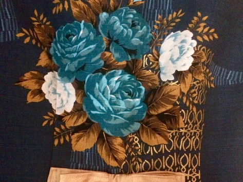 What I've Sewn: Emery Dress In Gertrude Made Barkcloth