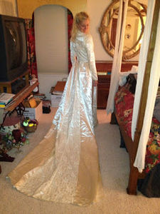 How To Redesign A Wedding Dress, Part 3