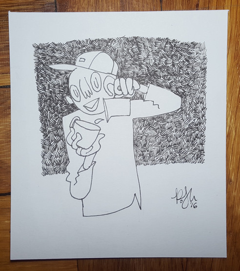 The Artist as Barista, 2016