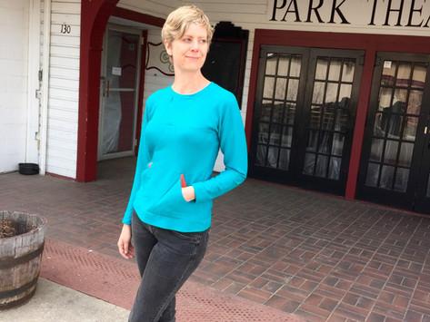 What I've Sewn: Geodesic Sweatshirt