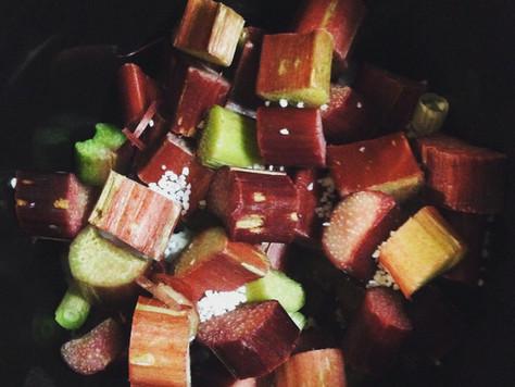 Rhubarb Chutney Recipe