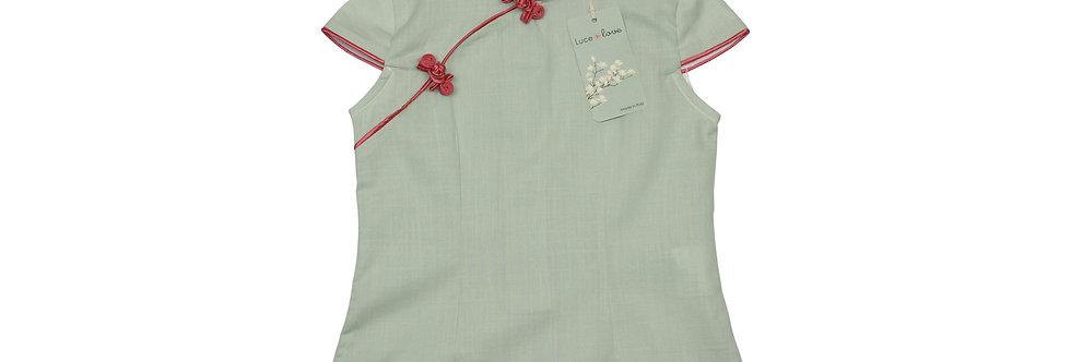 Chiara - Camicia qipao 100% Cotone