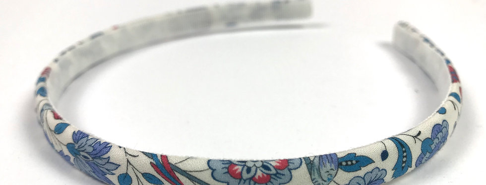 Cerchietto rivestito con tessuto 100%Cotone Liberty London
