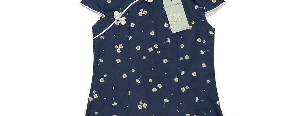 Diletta - Camicia qipao 100% Cotone organico
