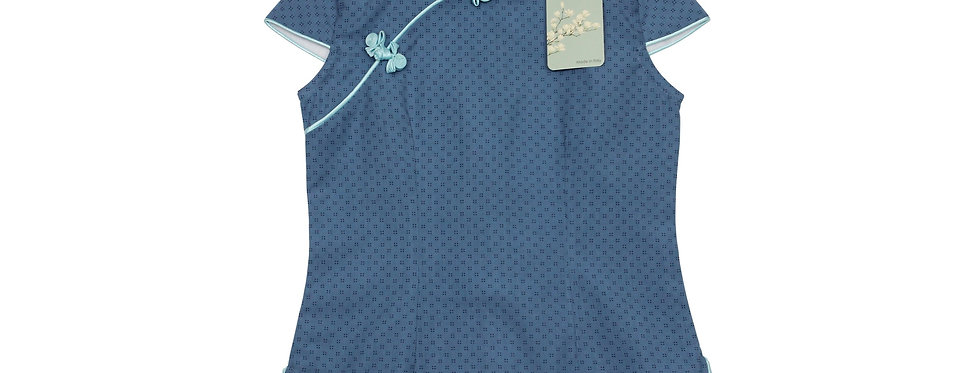 Isa - Camicia qipao 100% Cotone organico