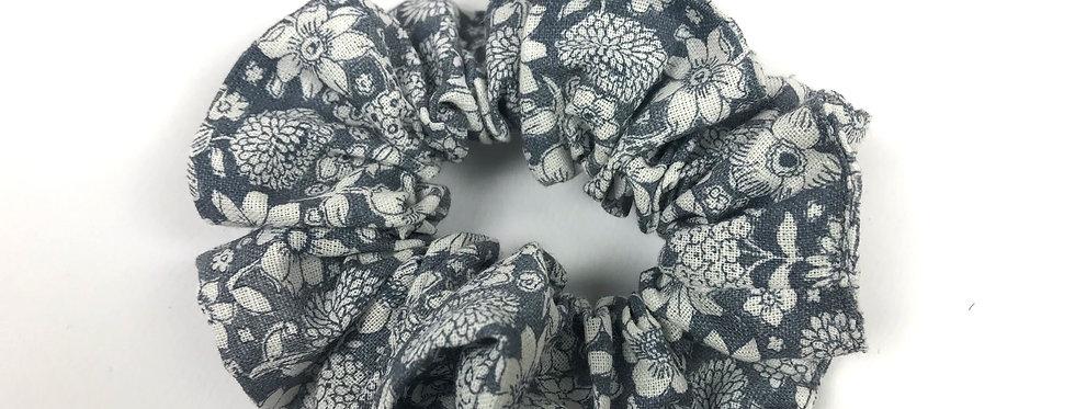 Elastico rivestito di tessuto 55% Lino 45% Cotone