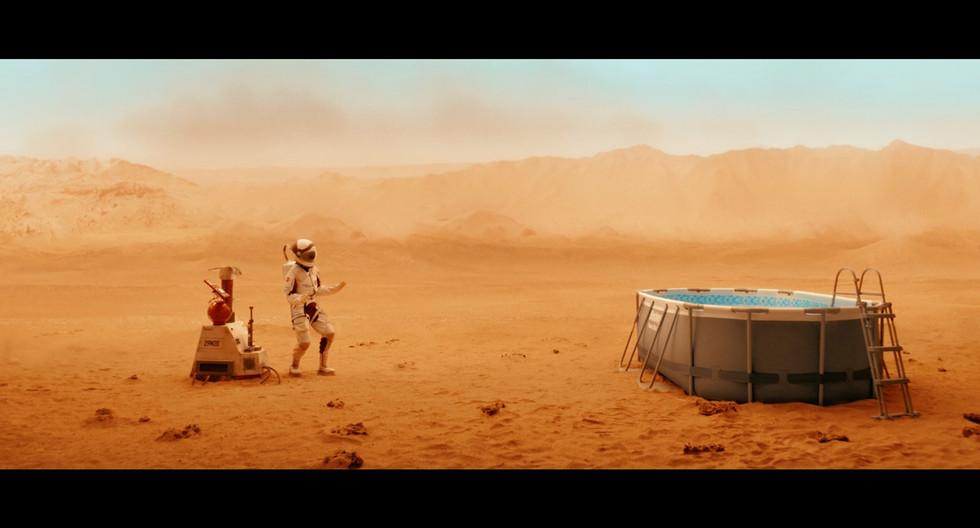 "BESTWAY "" Mission to Mars"""