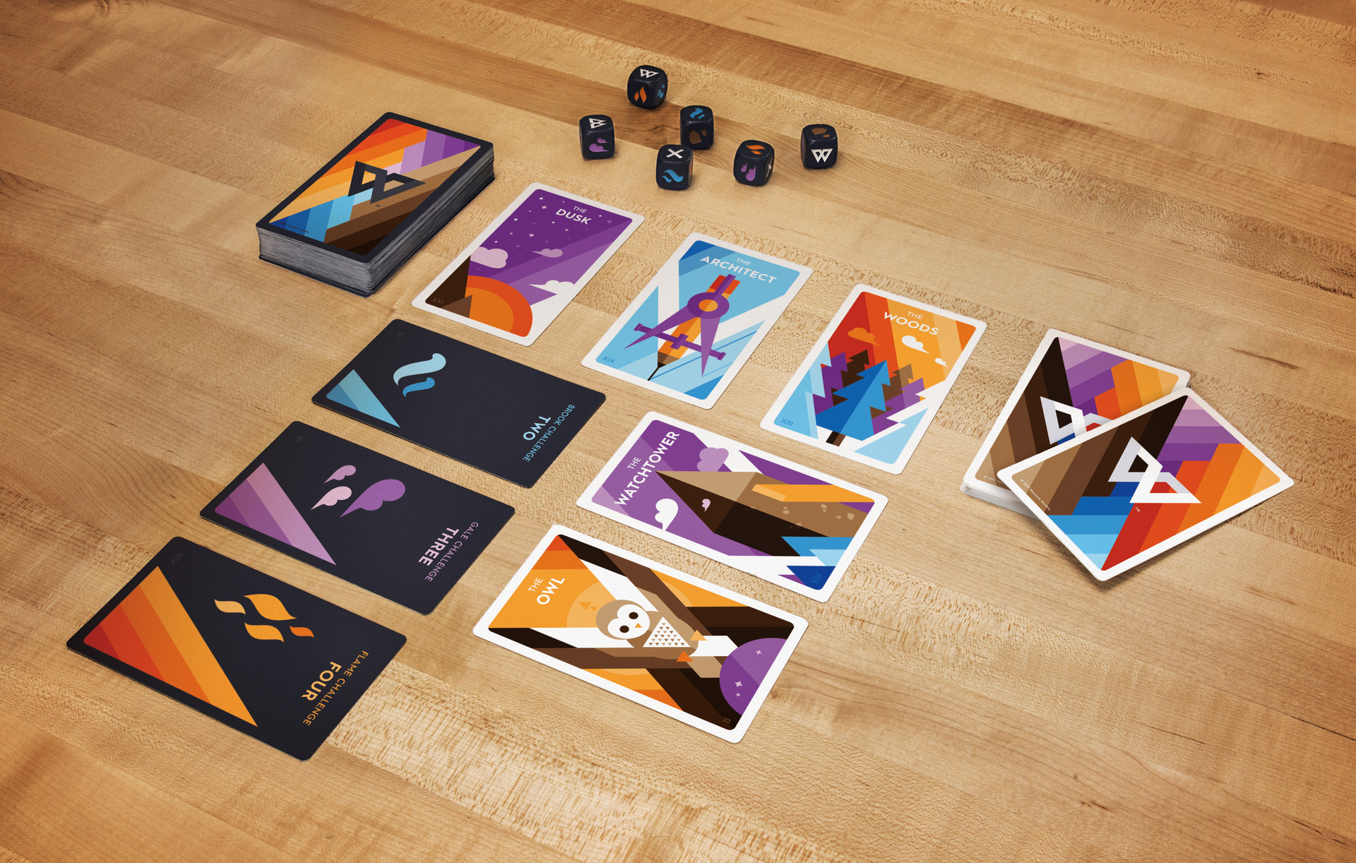 Card Spread and Dice