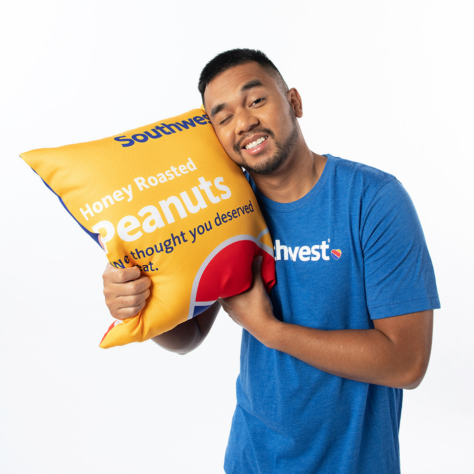 Southwest Airlines Peanut-Packaging Pillow