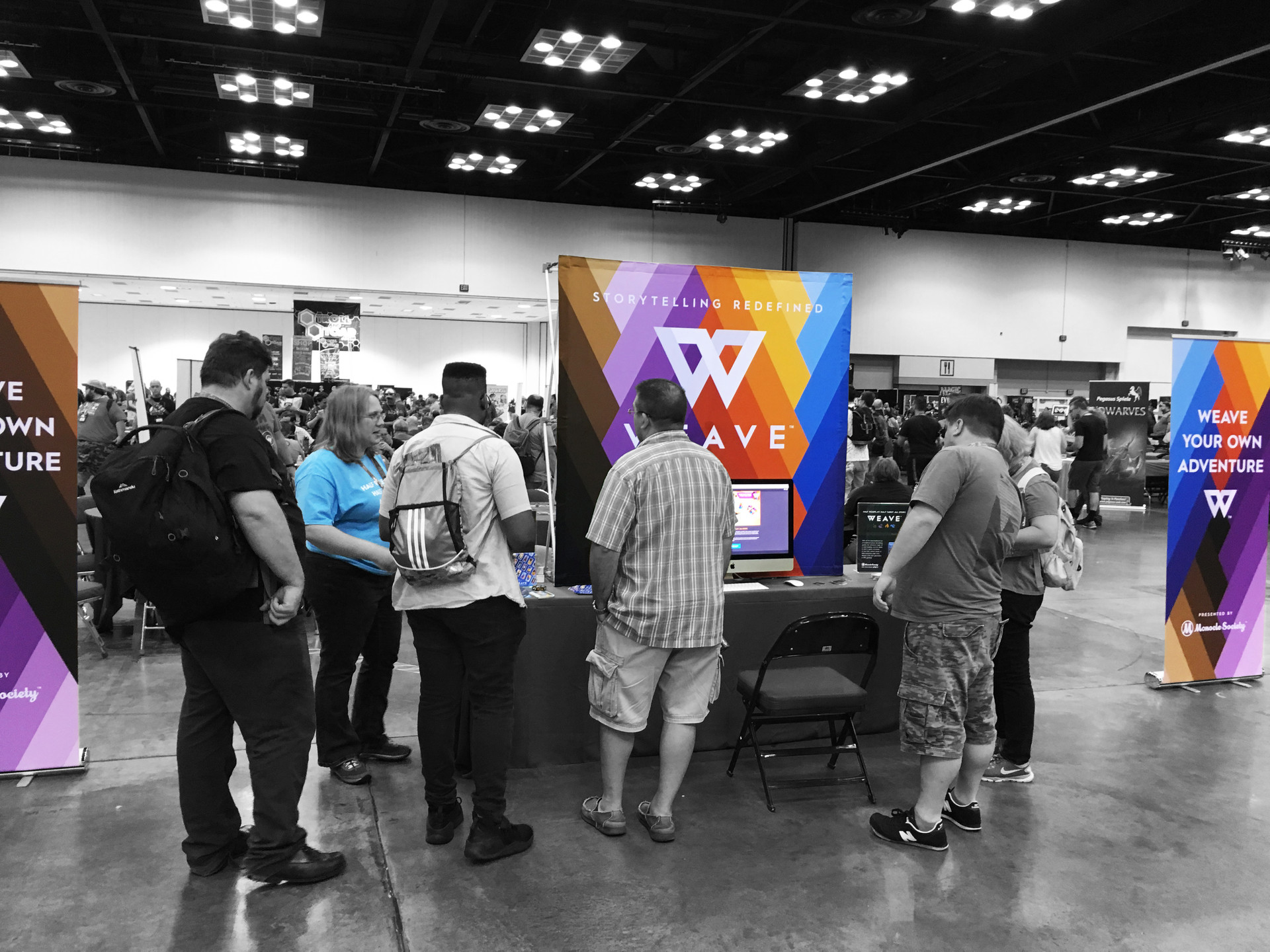 Gen-Con 50 Event Booth