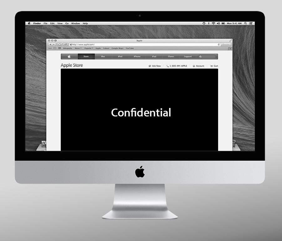 Apple.com Web Design