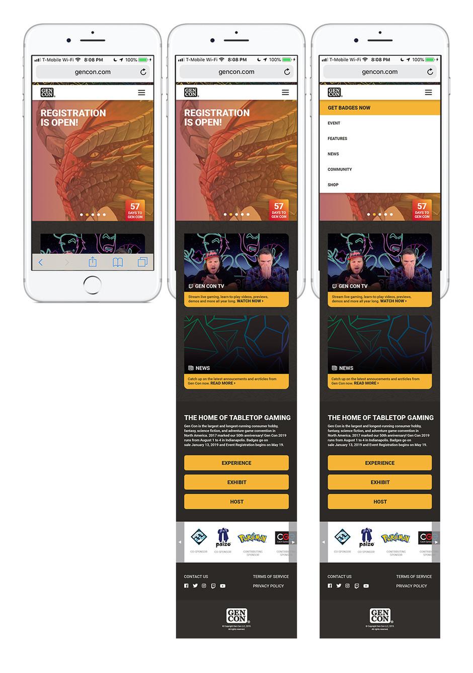 Website Homepage Re-Design Concept