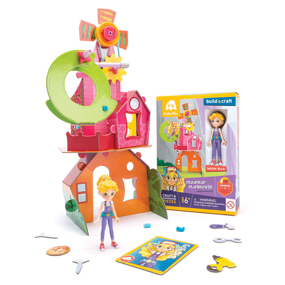 Goldie's Mini Figure Box & Toy