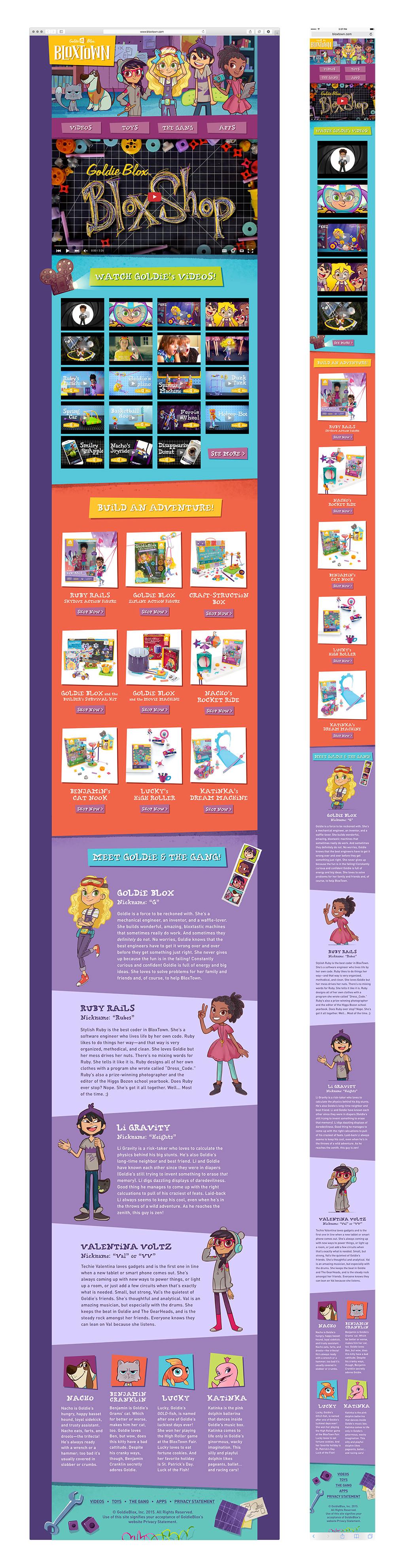Bloxtown.com v2.0 Desktop & Mobile