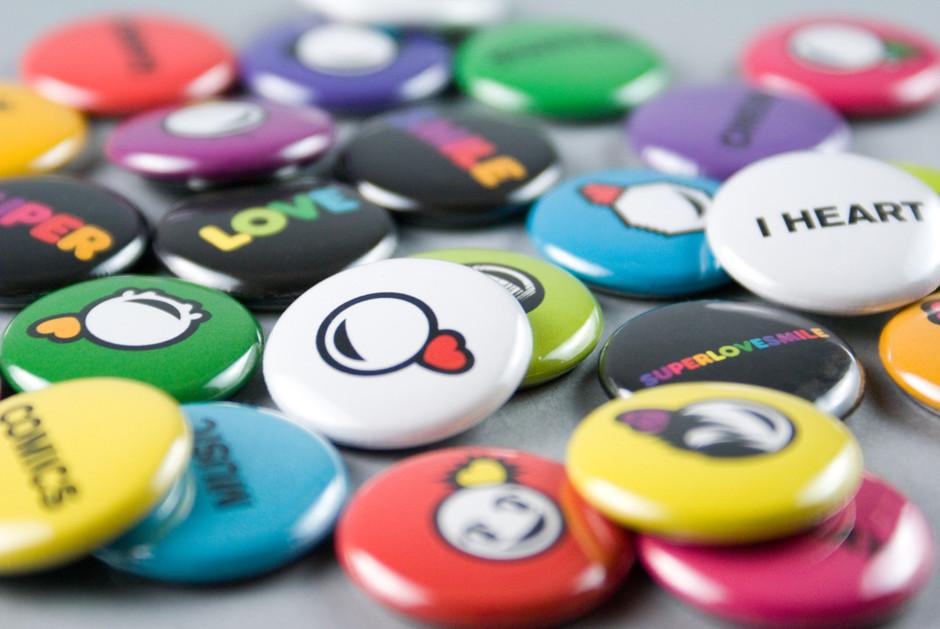 Merchandise (Buttons)