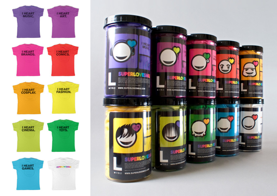 Merchandise (T-Shirts & Packaging)
