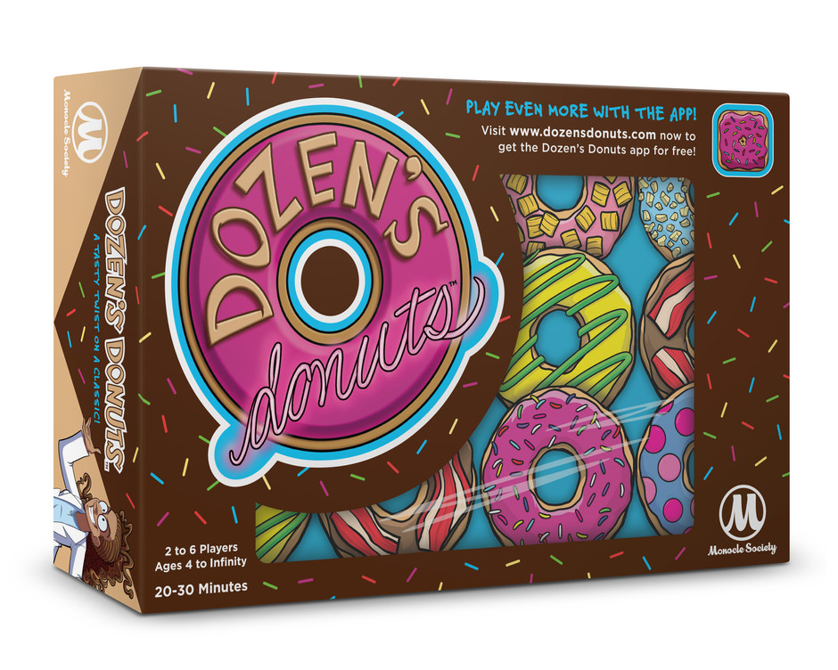 Dozens Donuts Packaging