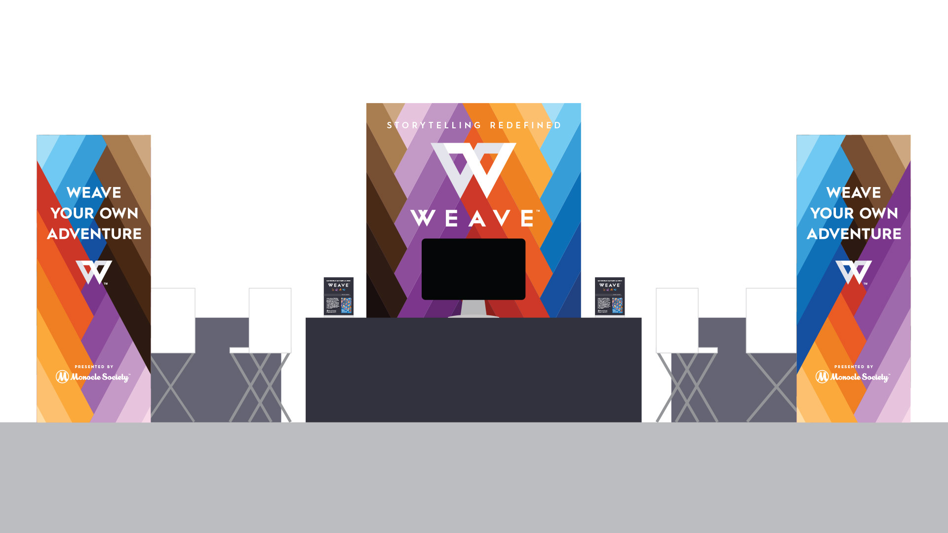 Gen-Con 50 Event Booth Mockup