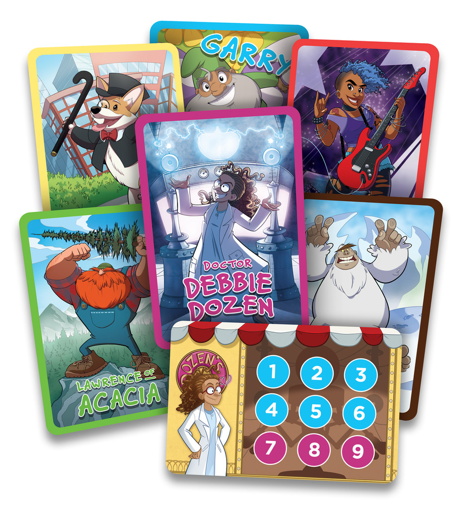 Character Score Cards
