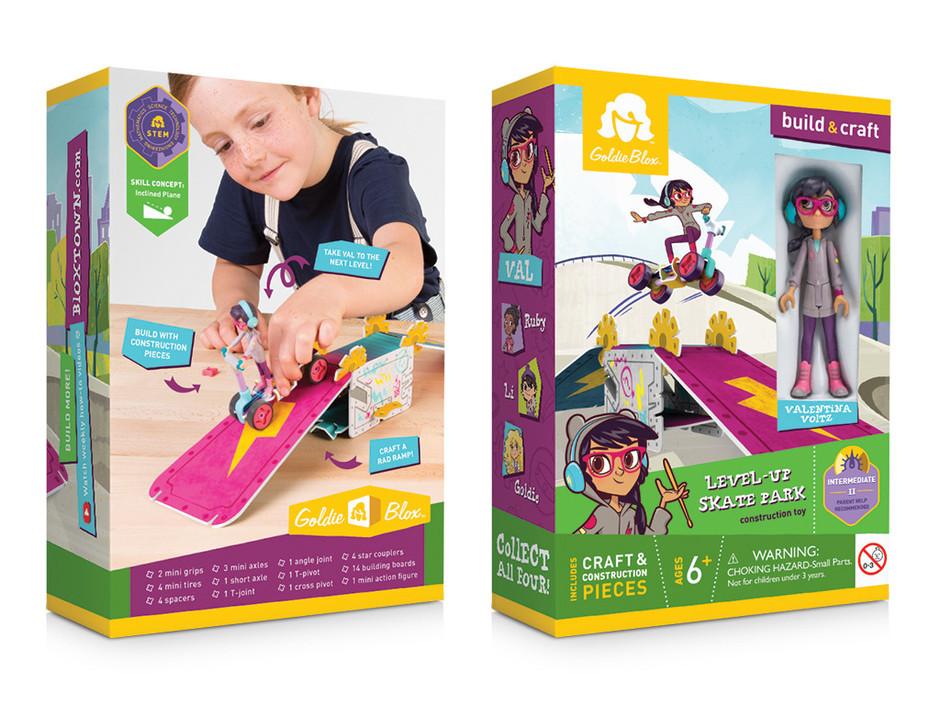 Front & Back of Val's Mini Figure Box