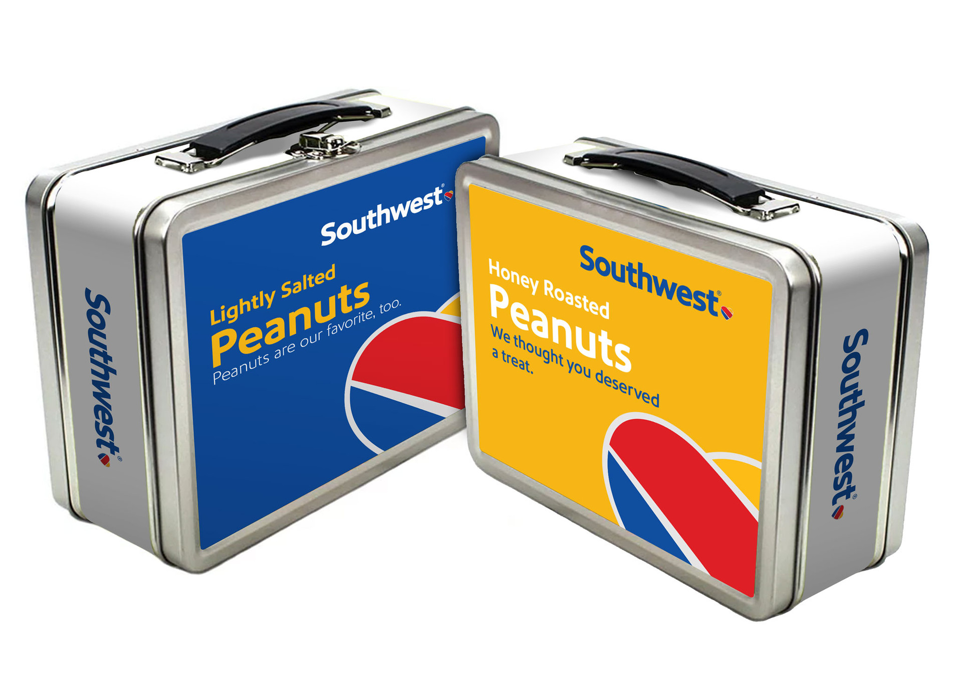 Southwest Airlines Peanut-Packaging Tins