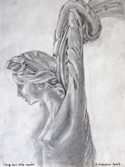 L'ange aux ailes nouées