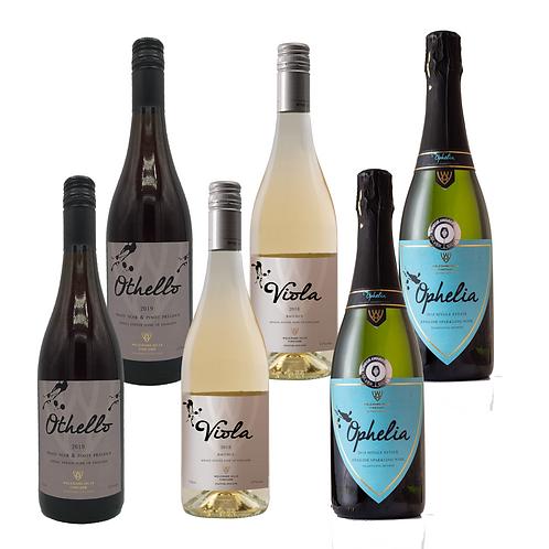 6 Bottle Wine Case Deal