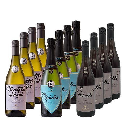 12 Bottle Wine Case Deal