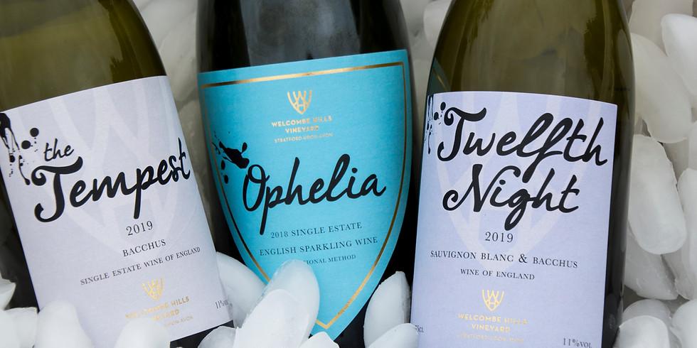 Virtual Wine Tasting on Facebook Live!