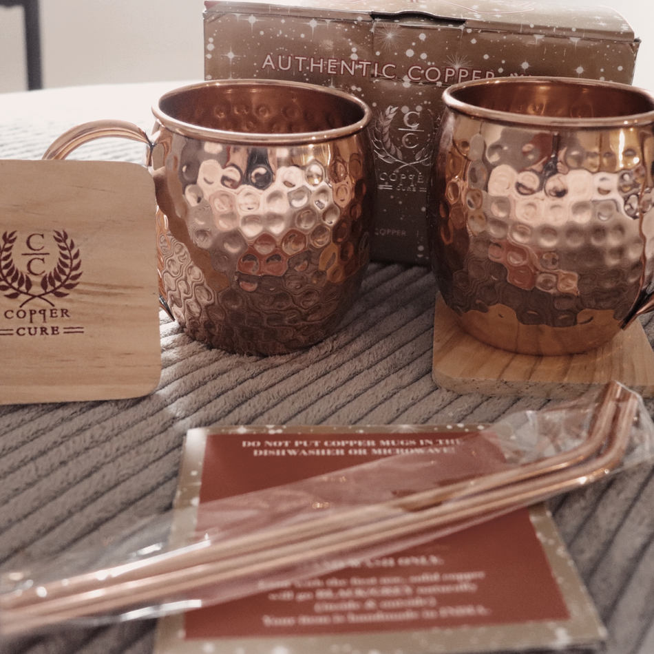 Copper Cure: Moscow Mule Mugs
