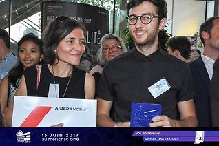 Festival du film de Mérignac, remise des prix - Agence WEA