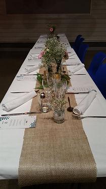 Blog événementiel Bordeaux | table