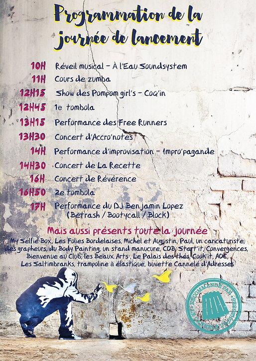 Blog événementiel Bordeaux   Programme de la journée de lancement - 7eme édition de Canelé d'adresses