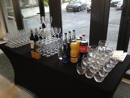 cocktail dinatoire, AG, nexity, buffet, événement professionnel
