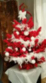 Blog événementiel Bordeaux | Sapin rouge blanc