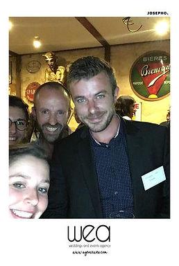 Blog événementiel Bordeaux | Photobooth à l'afterwork de l'Agence wea - Lucifer bar