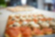 traiteur, cocktail dinatoire, buffet, événement pro, soram, nourriture