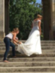 Blog événementiel Bordeaux | Shooting photo pour Les mariées de Nanas par l'Agence Wea - Marion Delcher