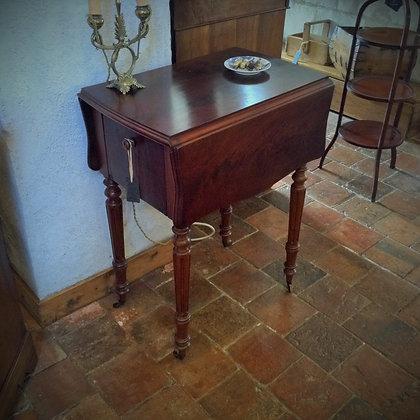 Table à volets XIXème