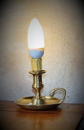 Lampe bougeoir fin XIXème