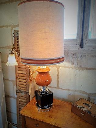 Grande lampe céramique vintage