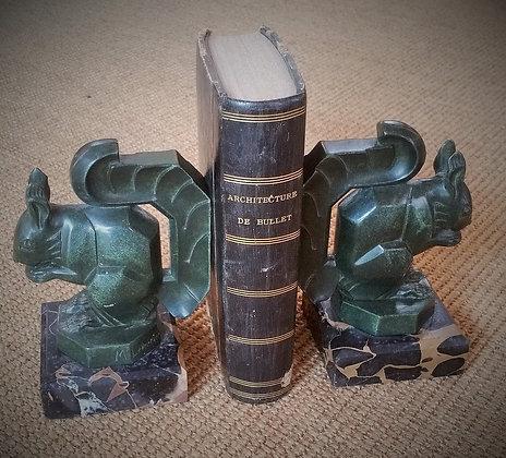 Serre livres Max Leverrier Art Déco