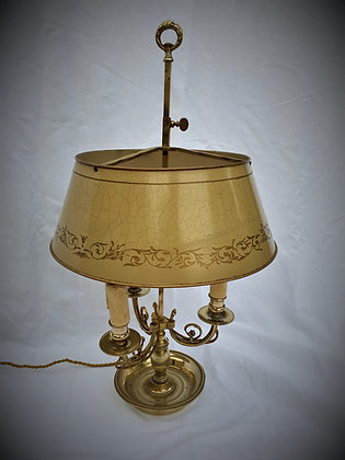 Grande lampe bouillotte fin XIXème