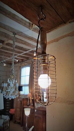 Lanterne de mineur datant début XXème