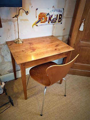 Table bureau en merisier ancienne