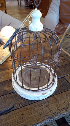 Porte plante style cage XXème